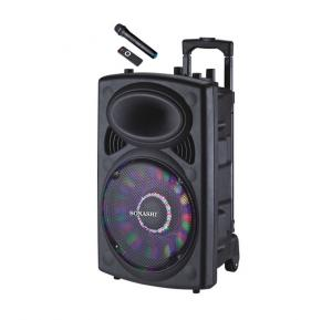 Sonashi 12 Inch Rechargeable Trolley Speaker SPS-7812RT